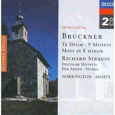 Bruckner/Strauss;Te Deum/M