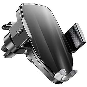 車載ホルダー 令和元年最新版 車載Qiワイヤレス充電器 10W/7.5W急速ワイヤレス充電器 車載スマホホルダー ワンタッチで自動開閉 車載ホルダー充電器 吹き出し口用 360度回転 エアコン スマホホルダー iPhone X/XR/XS/XSMAX/8/8 Plus,Galaxy S9/S8/S8 Plus/S7/S7,Nexus4/5/6, Sony SZ2/Xperia XZ3, HUAWEI Mate 20/20 pro/RSなどQI機種対応