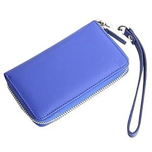 【AWESOME/オーサム】 プルームテック専用ケース カード入れ付き ブルー PLM-04
