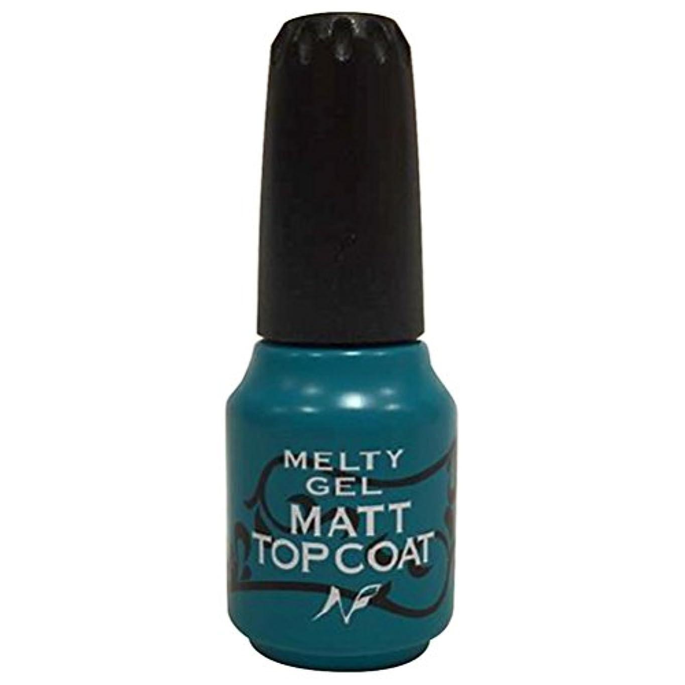 休憩する聖なる専門化するMelty Gel マットトップコート 14g