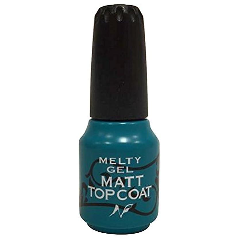 トピック回復する相対的Melty Gel マットトップコート 14g