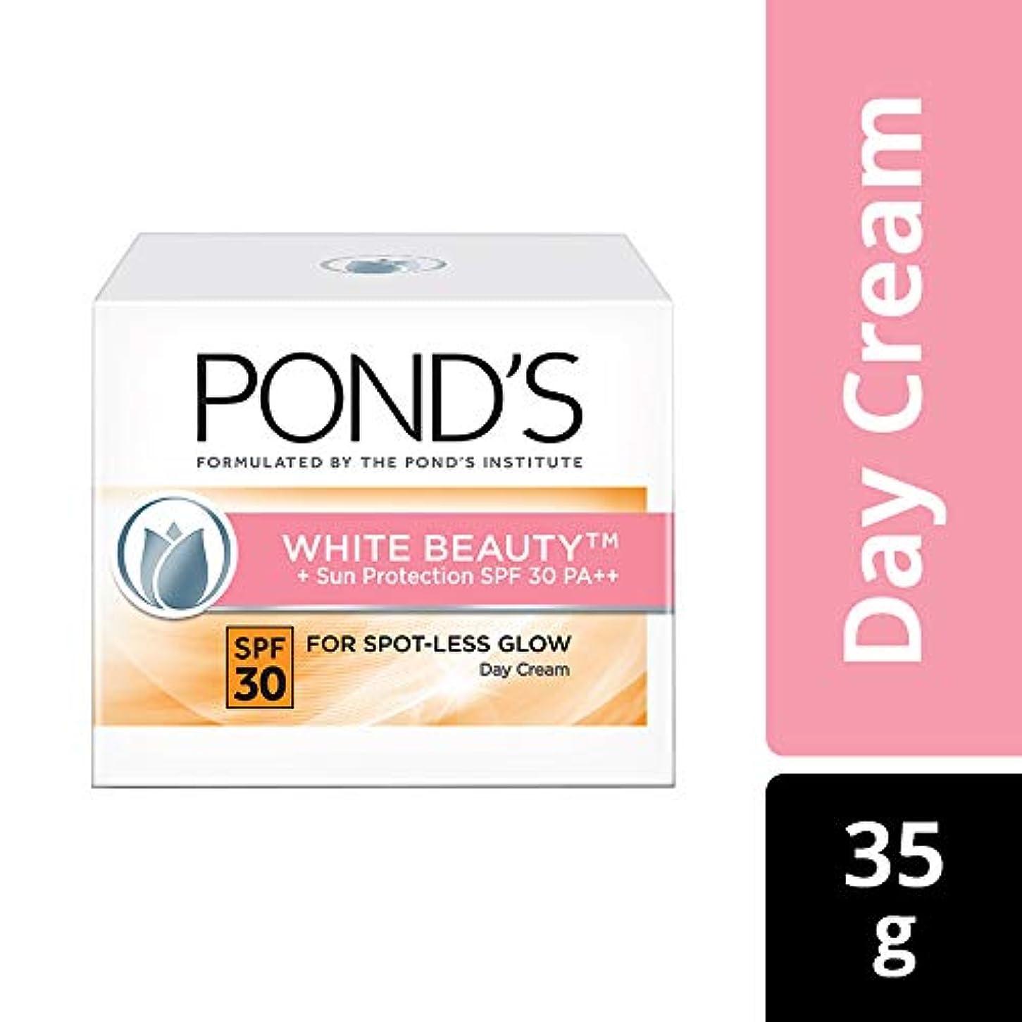 タンザニア突然の警報POND'S White Beauty Sun Protection SPF 30 Day Cream, 35 gms (並行インポート) India