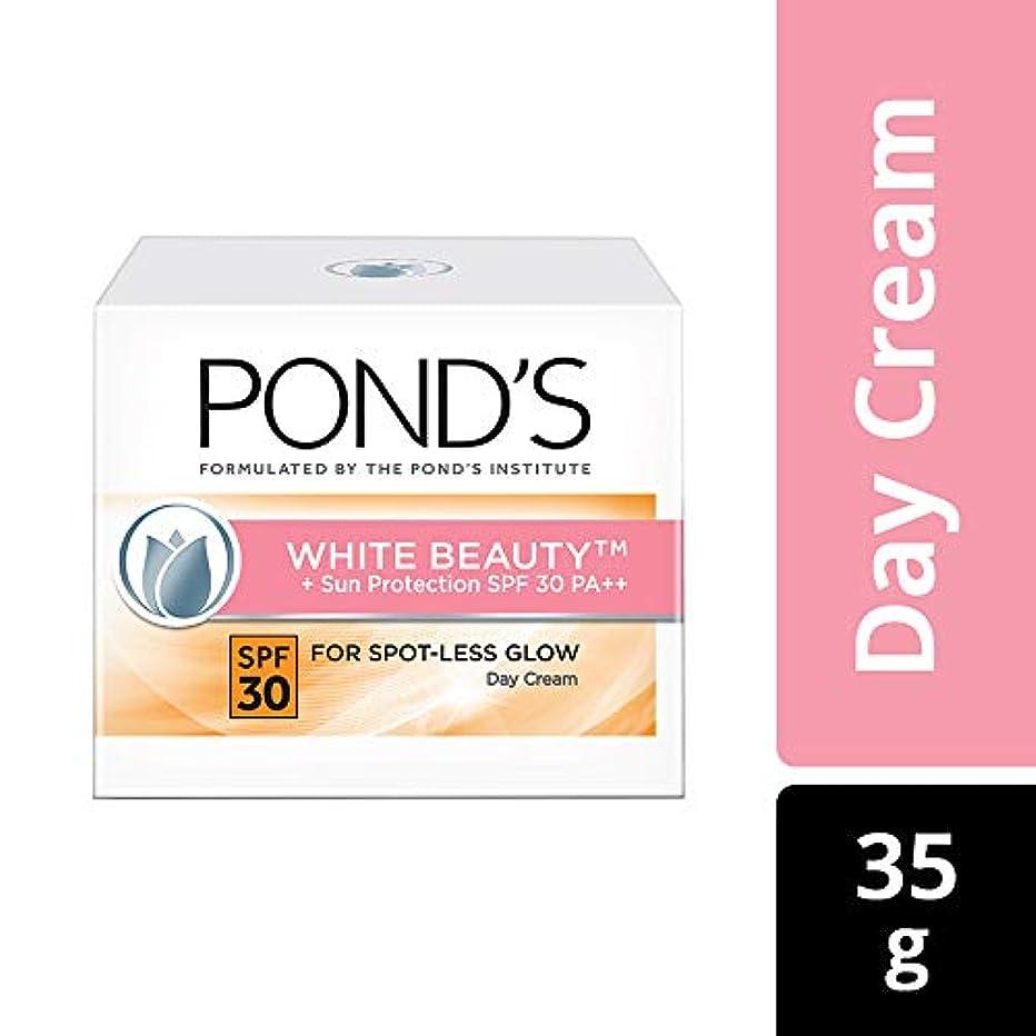 大胆不敵代数緩めるPOND'S White Beauty Sun Protection SPF 30 Day Cream, 35 gms (並行インポート) India