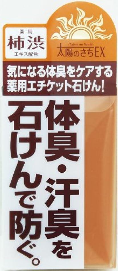 スクレーパー艦隊タイマー薬用太陽のさちEX 石けん 120g 【医薬部外品】