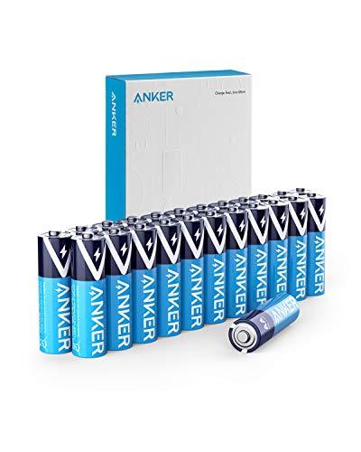 Anker アルカリ乾電池 単3形 (24本パック)【10年間長期保存 / 液漏れ防止/リサイクル可能】