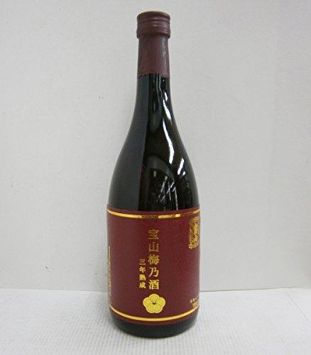 西酒造 宝山梅乃酒(ほうざんうめのさけ) 三年熟成 12°(鹿児島) 720ML× 1本