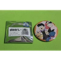 おそ松さん ばくだん焼き本舗 トレーディング缶バッジ ペア vol.2 おそ松&トド松 紅松