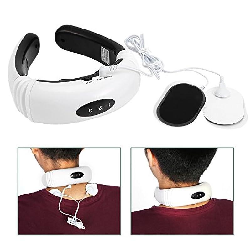 放つ寝室を掃除する識字電気首マッサージャー頸椎マッサージ器具
