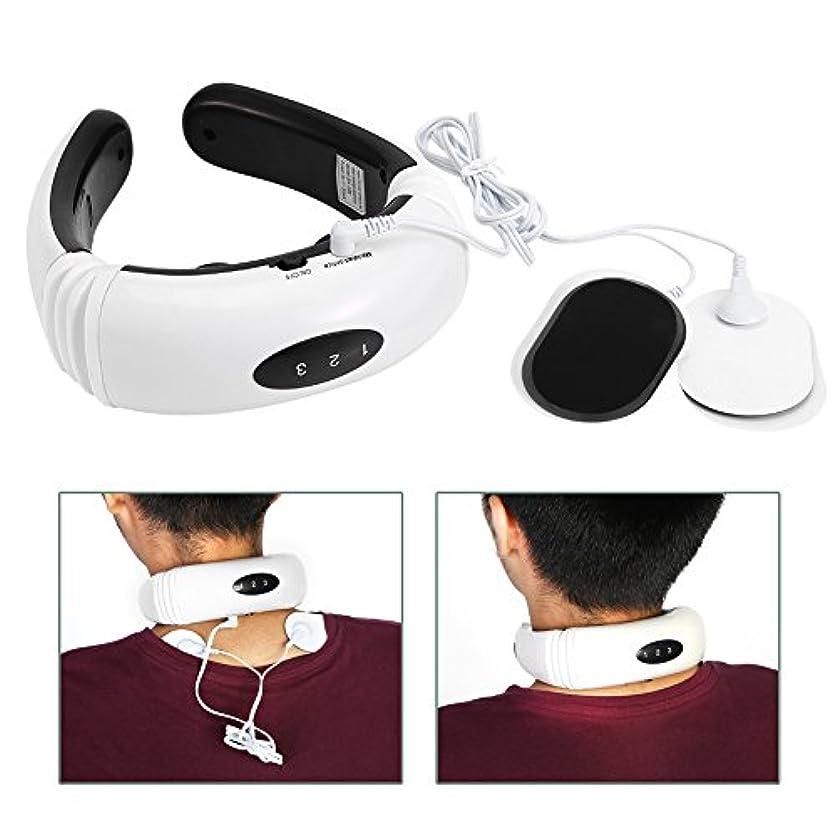 キャリアやむを得ない本能電気首マッサージャー頸椎マッサージ器具
