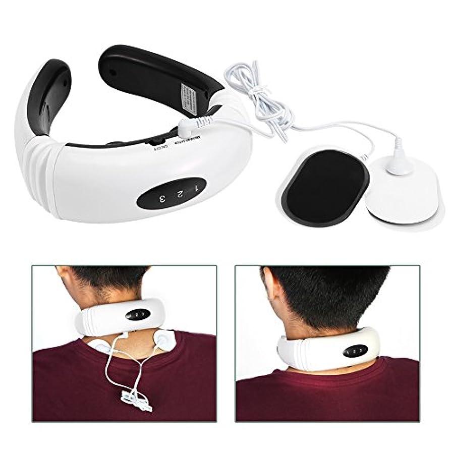 気取らない畝間信号電気首マッサージャー頸椎マッサージ器具