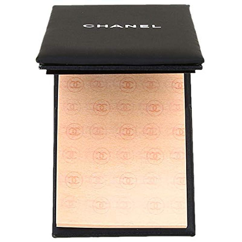 親愛な激しい瞬時にシャネル オイルコントロール ティッシュ (油取り紙) 150枚 (ケース付) 【並行輸入品】
