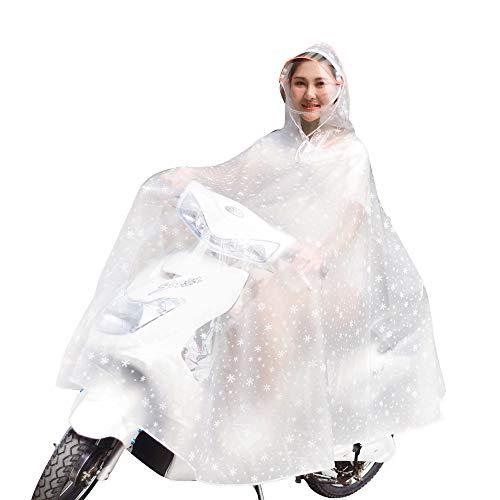 男女兼用 レインコート 大きさと厚みを増加ファッション 耐磨...