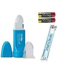 V-Zone Heat Cutter any(エニィ) Stylish マリンブルー + 単3アルカリ電池2本付きセット + ファイティングスピリットローション(12mL) 付き