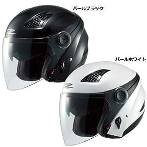 ナンカイ(NANKAI) ZEUS HELMET ゼウス クロノス ジェットヘルメット カラー:パールブラック サイズ:L NAZ-211 CRONUS