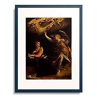 ハンス・フォン・アーヘン Aachen, Hans von 「Annunciation. 1605」 額装アート作品