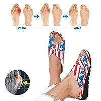 女性の足首矯正サンダル、足の親指整形外科スリッパ快適なプラットフォーム夏のビーチ旅行ショッピング靴、ガールフレンドのためのギフト母,6,37