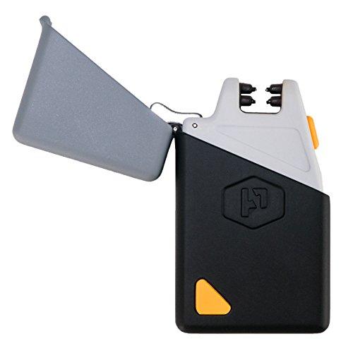 電源実用的Sparkr Mini–USB充電式防風電気アークライターと懐中電灯–デュアルアークプラズマライター+ LED懐中電灯for Everyday Carry