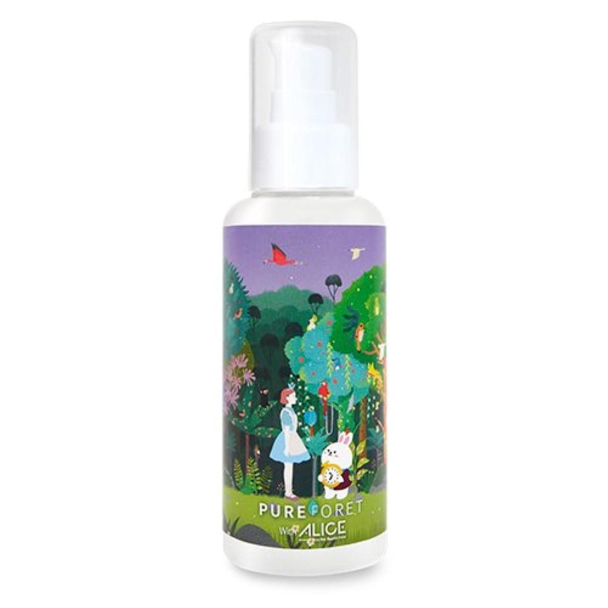 解決するもろい耐えられる韓国産 Pureforet x Alice スキンリペアラビット ハイドレーティング 乳液. (150ml)