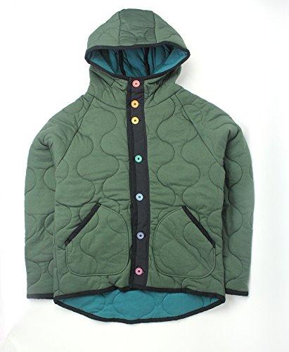 [해외]gym master 짐 마스터 웨이브 퀼트 다채로운 버튼 재킷/gym master Jim Master Wave Quilt Colorful Button Jacket