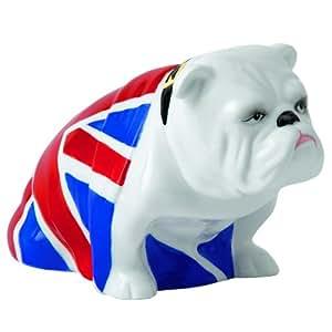 007 スカイフォール Royal Doulton Jack 英国旗 (ユニオンジャック) のブルドック 陶器製 フィギュア