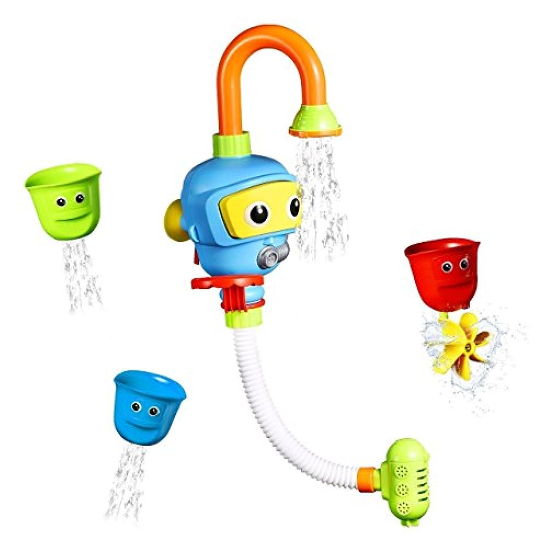 ベビーバスおもちゃ水が子供の子供の赤ちゃんのためのスプレーバスタブ噴水玩具シャワーお風呂用おもちゃ