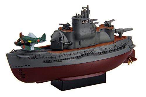 Chibi Maruko fleet series No.17 Chibi Maruko fleet Italian 400 type submarines two ships set Plastic by FALSE