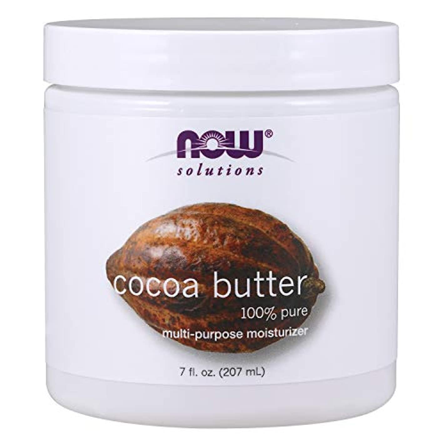 かわすバイナリウェーハ[海外直送品] ナウフーズ ピュアココア(カカオ)保湿バター