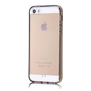レイ・アウト iPhone SE / iPhone5s / iPhone5 ケース ハイブリッド(TPU+ポリカーボネイト)ケース ブラック RT-P11CC2/B