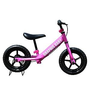 My Pallas(マイパラス) GRAPHIS 幼児用バランスバイク 12インチ カラー/ピンク GR-BABY