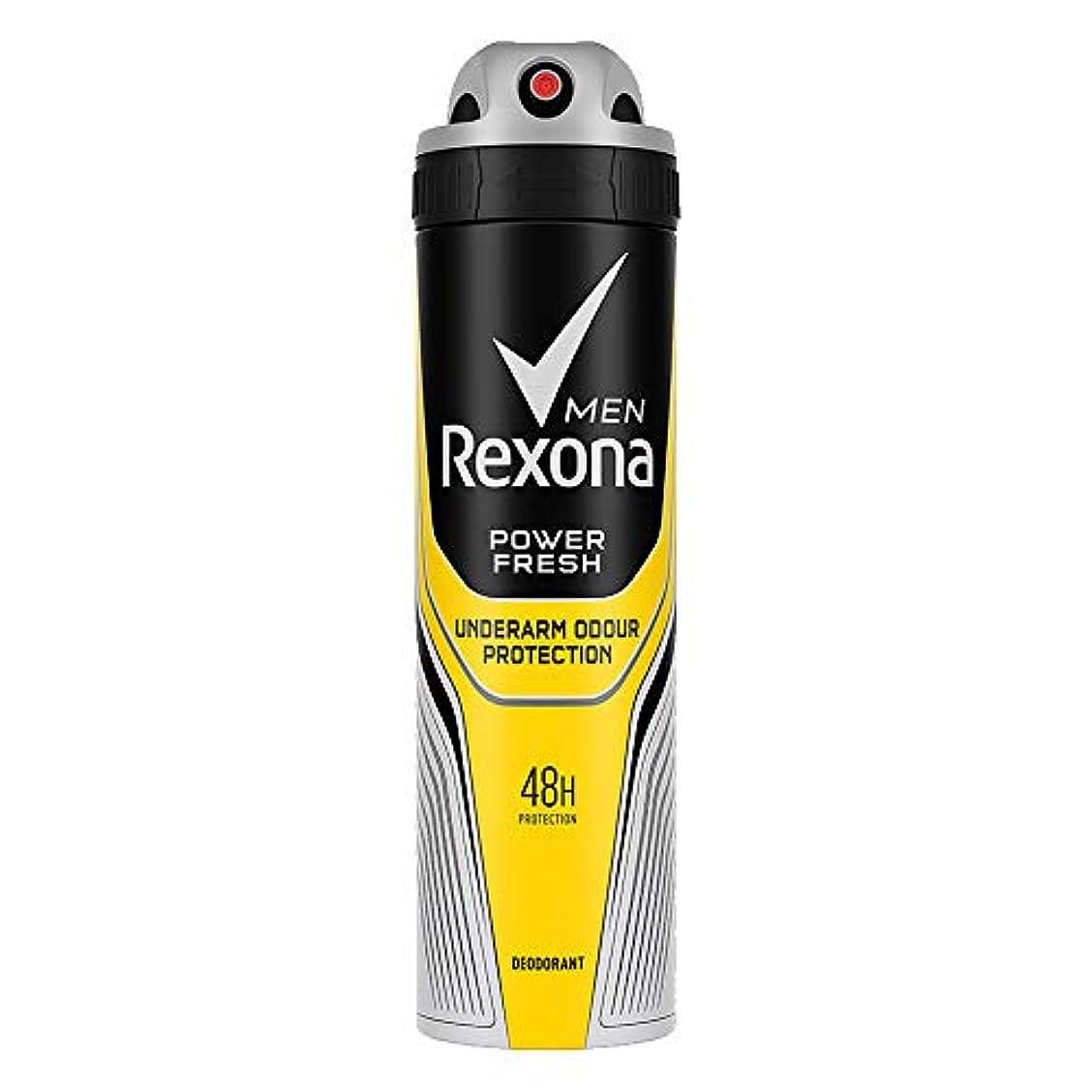 戦士幸運汚れるRexona Men Power Fresh Underarm Protection Deodorant, 150 ml