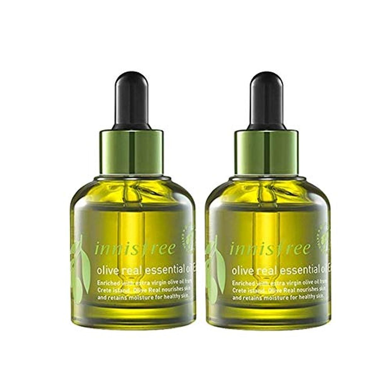 ピルいつ必需品イニスフリーオリーブリアルエッセンシャルオイルEx。 30ml x 2本セット保湿エッセンシャルオイル韓国コスメ、innisfree Olive Real Essential Oil Ex。 30ml x 2ea Set...