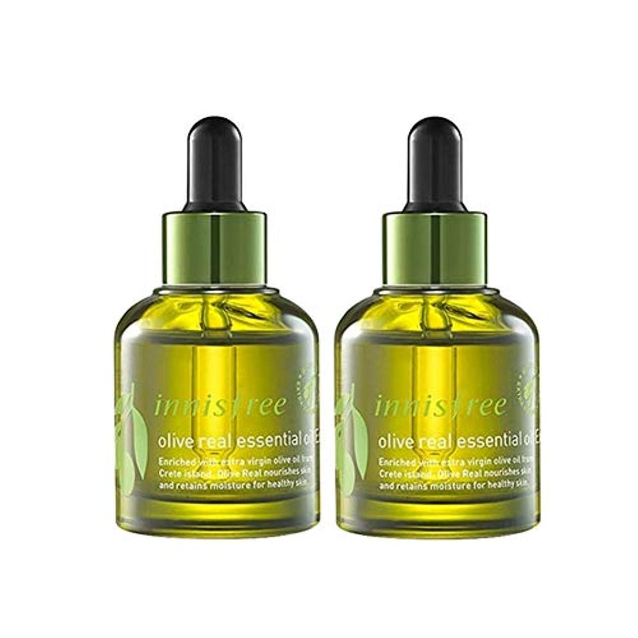 イニスフリーオリーブリアルエッセンシャルオイルEx。 30ml x 2本セット保湿エッセンシャルオイル韓国コスメ、innisfree Olive Real Essential Oil Ex。 30ml x 2ea Set...
