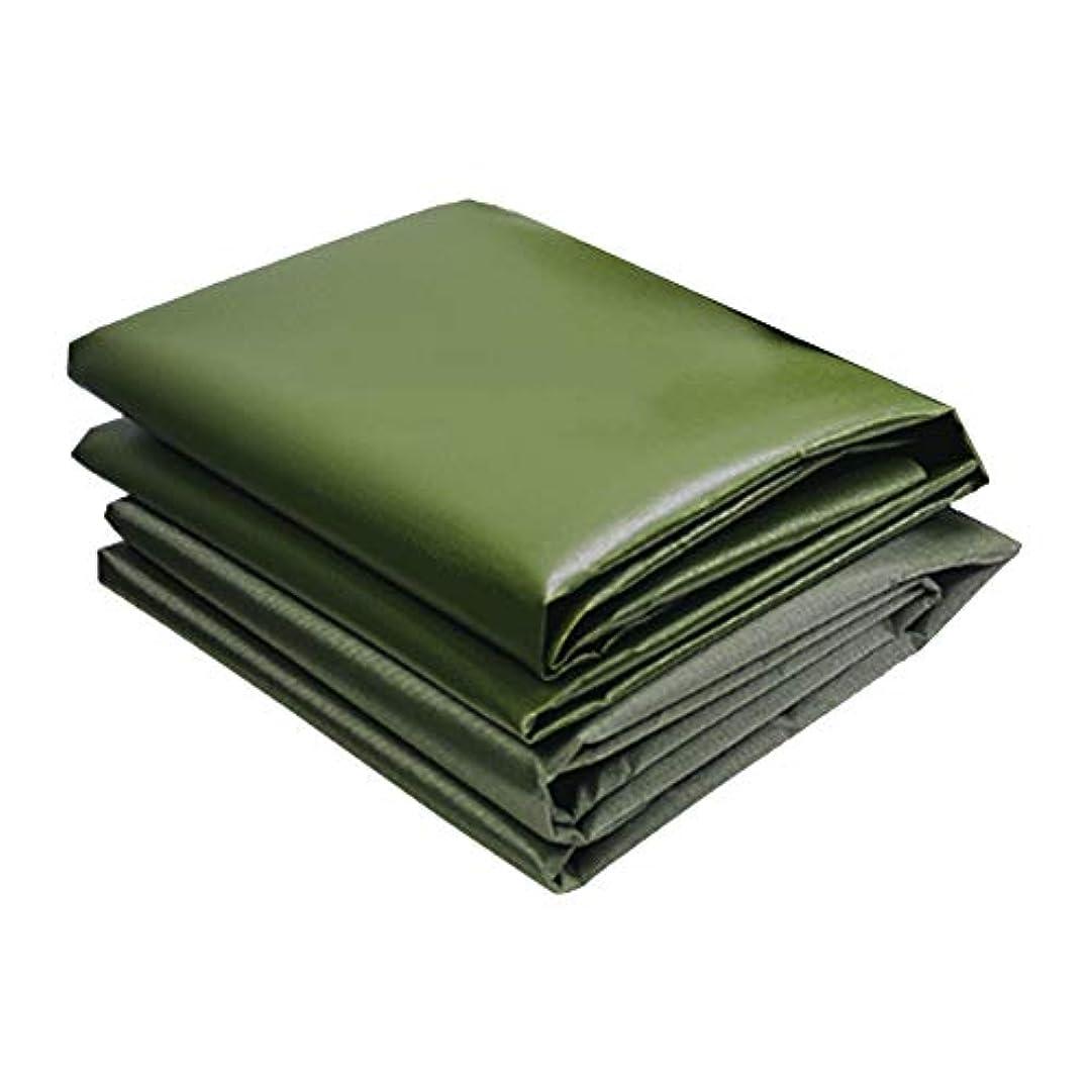 謎めいたファイバ野望ZX タープ ターポリン 耐摩耗性 防水布 日焼け止め アンチUV さび止め 老化防止 肥厚 防水シート テント アウトドア (色 : 緑, サイズ さいず : 3x4m)