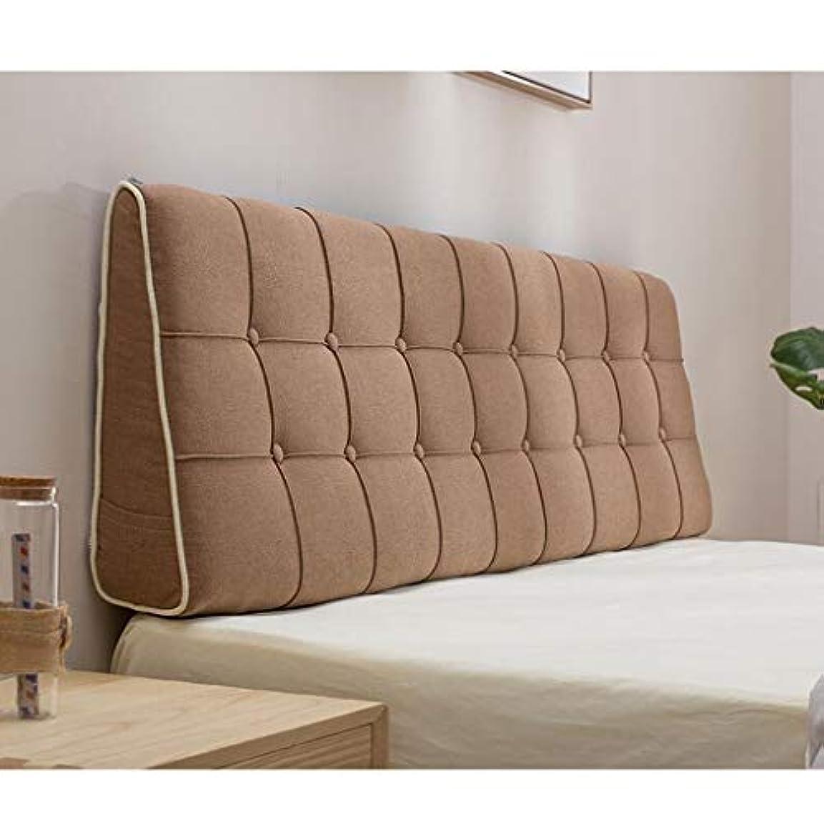 熟したかび臭い後悔ベッドサイドクッションファブリックベッドピロー大きなバッククッションダブルウエストクッションマルチスタイルオプションのコンフォートクッション Zsetop (Color : B, Size : 200*50cm)