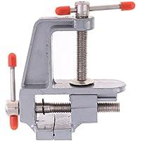 Kesoto アルミニウム合金 ミニ ベンチクランプ バイスツール モデル作り用 ホビー用工具