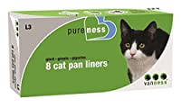 Pureness Giant Cat Pan Liners, 8 Count by Pureness