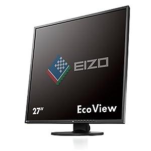 EIZO FlexScan 26.5インチ TFTモニタ ( 1920x1920 / IPSパネル / 5ms / ブラック ) EV2730Q-BK