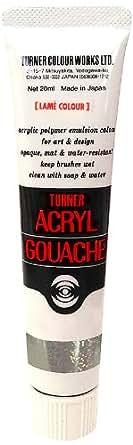 ターナー色彩 アクリルガッシュ ラメクリアダイアモンド AG020222 20ml(6号)