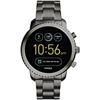 Fossil Q Explorist Grey Stainless Steel Smartwatch FTW4001
