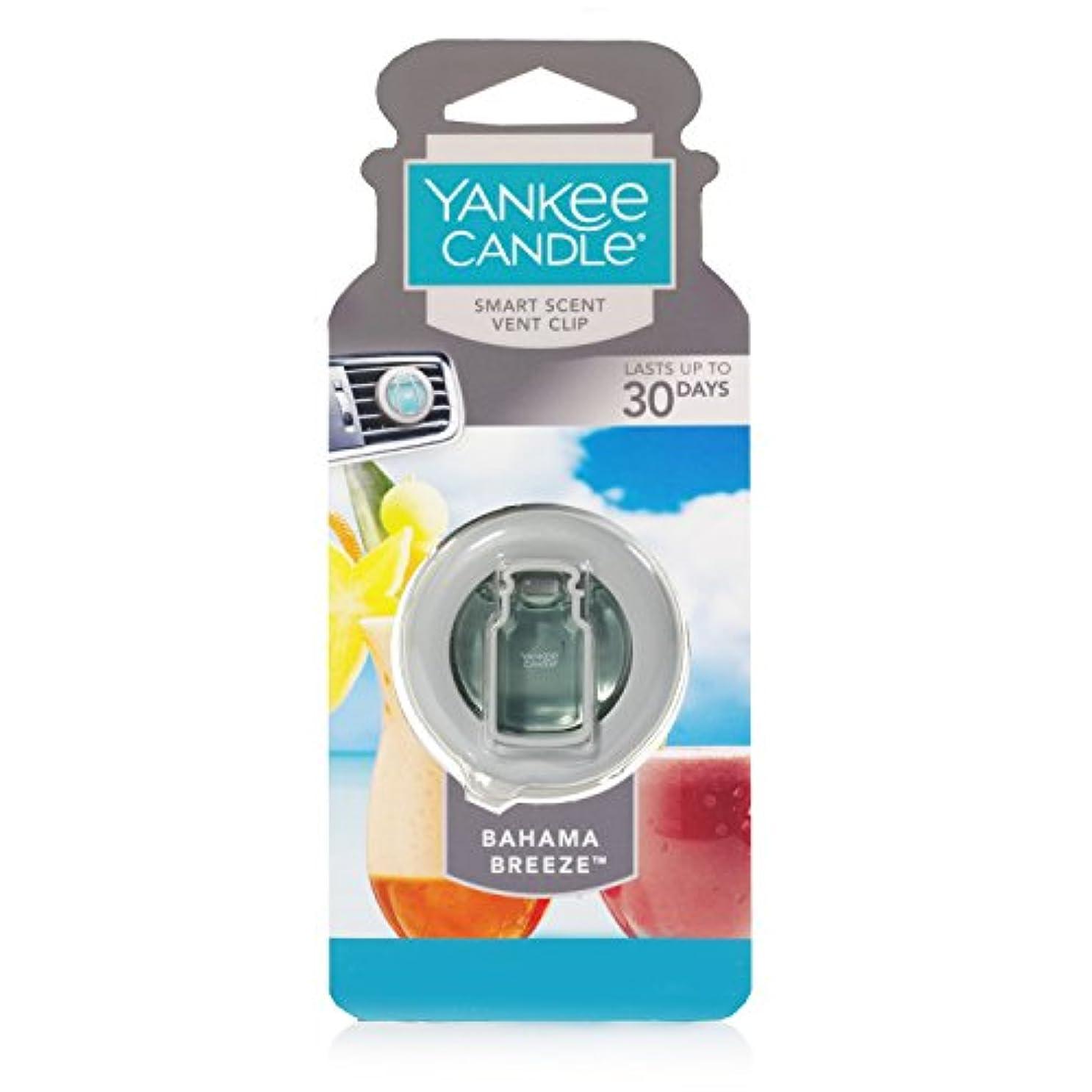 カールアミューズダムYankee Candle 1304389 Bahama Breeze Car Vent Clip