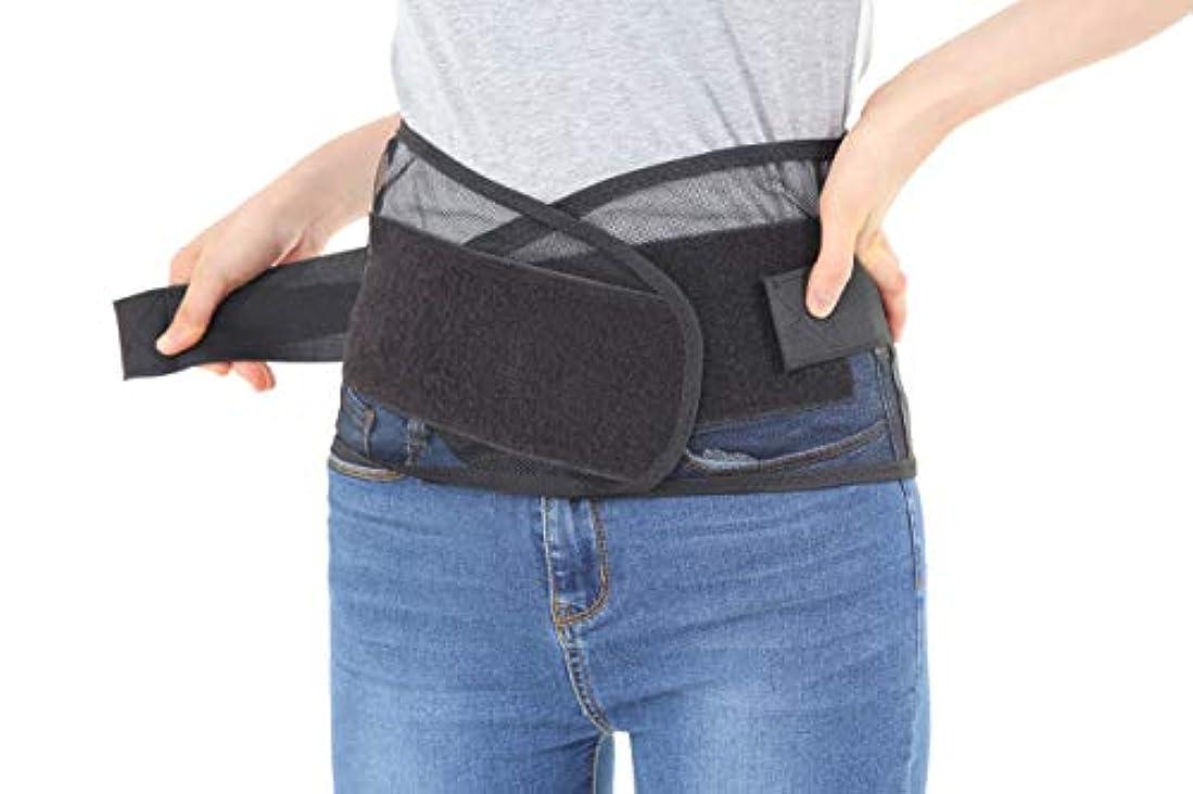 恐怖症上院ぜいたく腰痛ベルト コルセット 骨盤ベルト 腰 サポーター 男女兼用 大きいサイズ 3D腰痛ベルトサポートPRO (M)