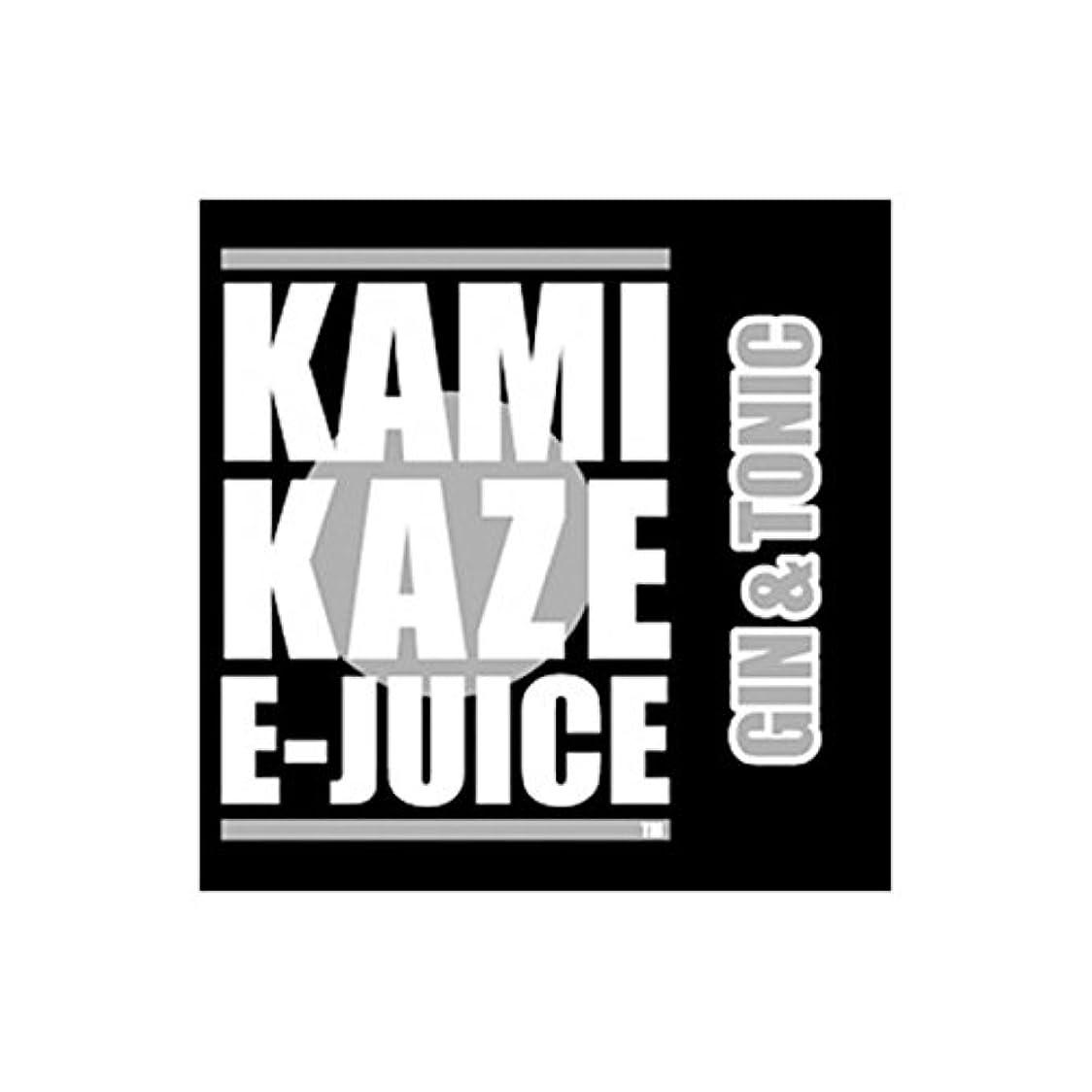 はちみつスワップ無関心KAMIKAZE E-JUICE カミカゼ ジントニックフレーバー GIN&TONIC 電子タバコ 日本製国産 リキッド 15ml 2本