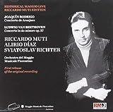 ベートーヴェン:ピアノ協奏曲第3番、ロドリーゴ:アランフェス協奏曲 スヴィヤトスラフ・リヒテル、アリリオ・ディアス、リッカルド・ムーティ&フィレン
