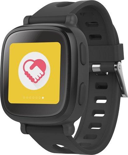 【日本正規代理店品】Oaxis 子供用 iPhone/Android連動スマートウォッチ 活動量計 SOS発信 離れたらアラーム WiFi/Bluetooth/GPS ボイスレコーダー MicroSIMカード対応 Black