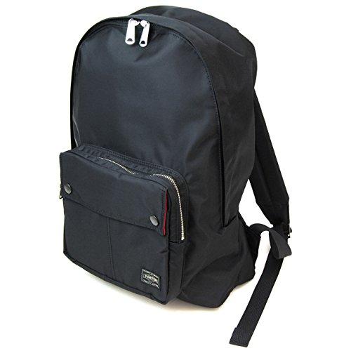 ポーター エルファイン 【PORTER L-fine】 PORTER×ILS共同企画 デイパック Daypack 【LYD383-06689】 ブラック 裏地=レッド Black Backing=Red