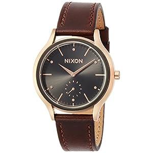 [ニクソン]NIXON 腕時計 SALA LEATHER: ROSE GOLD/BURGUNDY NA9952362-00 レディース 【正規輸入品】