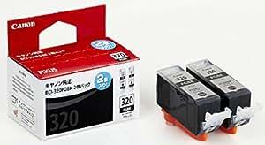 Canon 純正インクカートリッジ BCI-320 ブラック 2個パック BCI-320PGBK2P