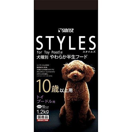 スタイルズ トイプードル用 10歳以上用 120g 10パック  スタイルズ STYLES