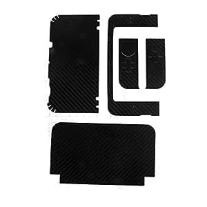 New3DS LL カーボンスキンシール 黒 [並行輸入品]