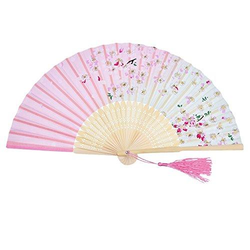 OUYOU 扇子 婦人 江戸 和風 和服 七五三 祭り cosplay 成人式 踊り 茶扇 歌舞伎小物 プレゼント